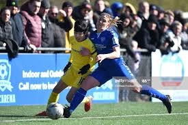 Ji So-Yun of Chelsea is challenged by Abby Holmes of Durham during... News  Photo - Getty Images