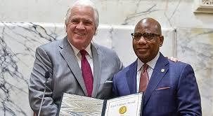 President David Wilson Receives Maryland Senate's 2018 First Citizen Award  – Morgan State University Newsroom