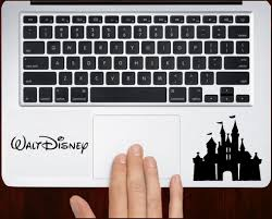 Disney Castle Decal Sticker For All Keyboard Trackpad Laptop Decals Computer Sticker Laptop Decal Computer Decal