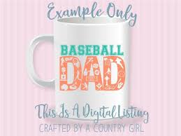 Svg Baseball Dad Life Vinyl Cut File Silhouette Cameo Cricut Scrapbook Base Ball Baseball Life Dad L Life Design Yeti Decal By Crafted By A Country Girl Digital Designs Catch My