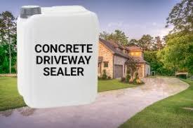 best concrete driveway sealer
