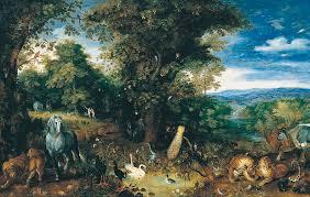 the garden of eden painting by jan brueghel