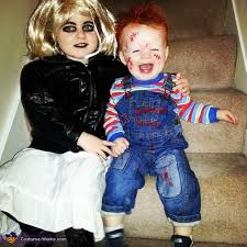chucky and his bride halloween costume