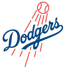 Los Angeles Dodgers Fathead Logo Giant Removable Decal