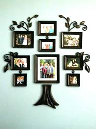 wall hanging photo frame family tree