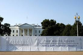 Trump Began To Build A High Wall Around The White House Micetimes Asia