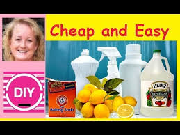 natural homemade household cleaners