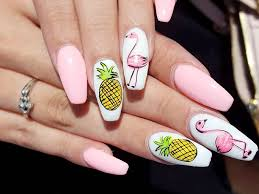 acrylic nails designs for summer new