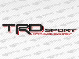 Toyota Trd Sport Decal Stickers