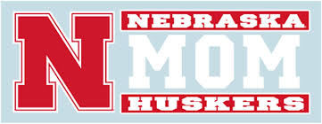 Nebraska Corn Huskers 4x4 Decal Pack