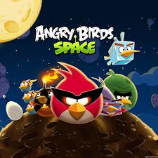 Angry Birds Space Bird Clan iPad Wallpaper