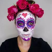 day of the dead makeup sugarskulls