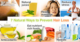 7 natural ways to prevent hair loss
