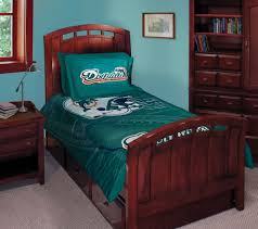 miami dolphins nfl twin comforter set