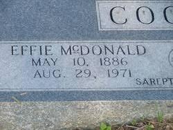 Effie McDonald Cooper (1886-1971) - Find A Grave Memorial
