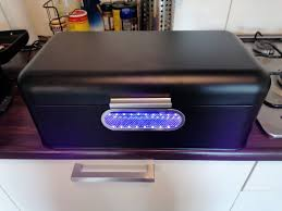 Willow On Twitter Uv Box Large Enough For Phenom Prints Is Done A Bread Box Uv Led Strips Chrome Vinyl Sticker And Wireframe From A Trashcan Https T Co W1bi8ghjtk