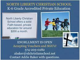 PPT - NORTH LIBERTY CHRISTIAN SCHOOL K-6 Grade Accredited Private ...