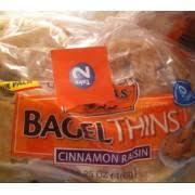 thomas bagel thins cinnamon raisin