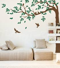 Long Corner Tree Wall Decal Tree Decal Design For Your Home Living Room Bedroom Kid Room Entrance Office Etc Ht006 Kids Room Wall Decals Home Living Room Tree Wall Decal