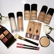 makeup artist kit bridal mac brushes