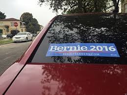 File Bernie Sanders Stickers Are Stuck On Car Windows In Miami Ahead Of The March 15 2016 Primary Jpg Wikimedia Commons