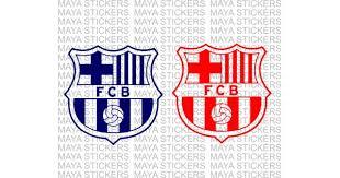 Barcelona Fc Football Logo Decal Stickers