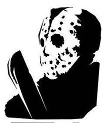 Jason Voorhees Friday The 13th Mask Killin It Decal Window Bumper Sticker Car Decals Stickers Vinyl Art Decals Stickers Vinyl Art Home Decor
