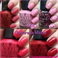 OPI Couture de Minnie Collection Swatches and Review - Cosmetic ...