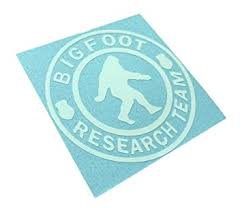 Bigfoot Research Team Decal Sasquatch Yettie Funny Car Window Vinyl Sticker Come With Zombie Hunter Permit Decal Plfhkjgurg