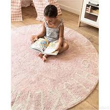 Handmade Woven Floor Carpet Kids Room Game Pad Children Play Mat Pink Decor Changing Mats Covers Baby Matrizescardeal Com Br