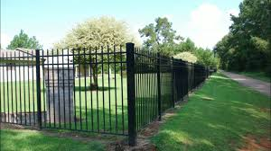 Jerith Aluminum Fence Installed By Fencetown Com Customers Youtube