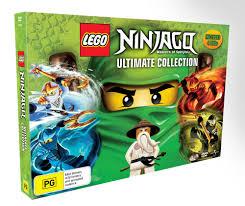 LEGO Ninjago - Masters of Spinjitzu Ultimate Collection- 4 Disc ...