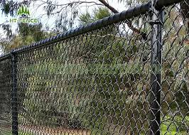 3 6mm Wire Steel Chain Link Fence Chain Link Security Fence For Home Garden