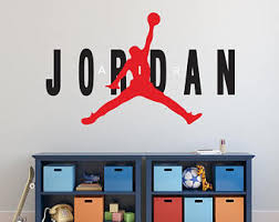 Jordan Wall Decal Etsy