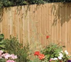 Rowlinson Vertical 6 X 4 Ft Pressure Treated Fence Panel Gardensite Co Uk