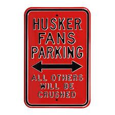 University Of Nebraska Wall Signs Framed Art Nebraska Huskers Street Signs Bigtenstore Com