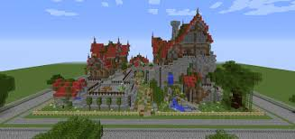 Four Homes A Tavern And A Bridge Behind The Picket Fence Contest Minecraft Map