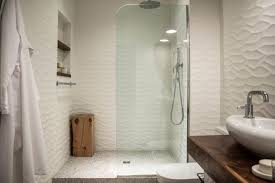 large and luxurious walk in showers