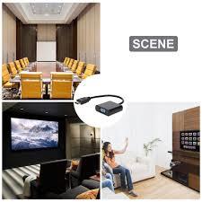 Cáp HDMI Ra VGA Có Dây Audio - Cáp HDMI to VGA có dây Audio