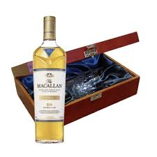 macallan double cask gold whisky in