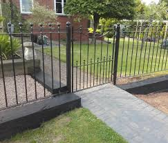 Wenlock Metal Railings Wrought Iron Wall Top Evador