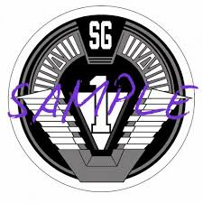 Find Stargate Sg1 Transparent Sticker Decal For Sci Fi Geek Motorcycle In Ann Arbor Michigan United States For Us 5 00