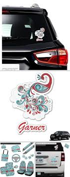 Peacock Graphic Car Decal Personalized Youcustomizeit