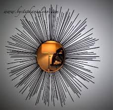 sunburst raindrop starburst mirror