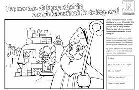 Kleurplaat Sinterklaas Rijswijk Tv