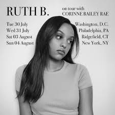 Ruth B. - couple shows this summer opening up for the... | Facebook