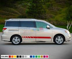 Sticker Decal For Nissan Quest Rear Wing Front Spoiler Cover Light Mirror Window Ebay