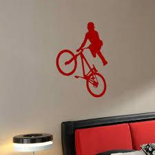 Large Bmx Bike Childrens Wall Art Bedroom Mural Big Sticker Transfer Vinyl Decal 230721319297 2 Bespoke Graphics