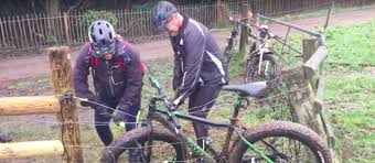 Video The Struggle Is Real And Hilarious British Cyclist Snares His Bike In An Electric Fence We Love Cycling Magazine