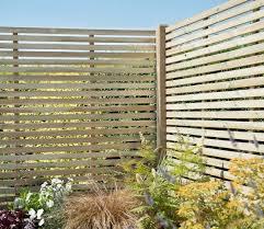 Forest Slatted 6 X 5 Ft Fence Panel Gardensite Co Uk